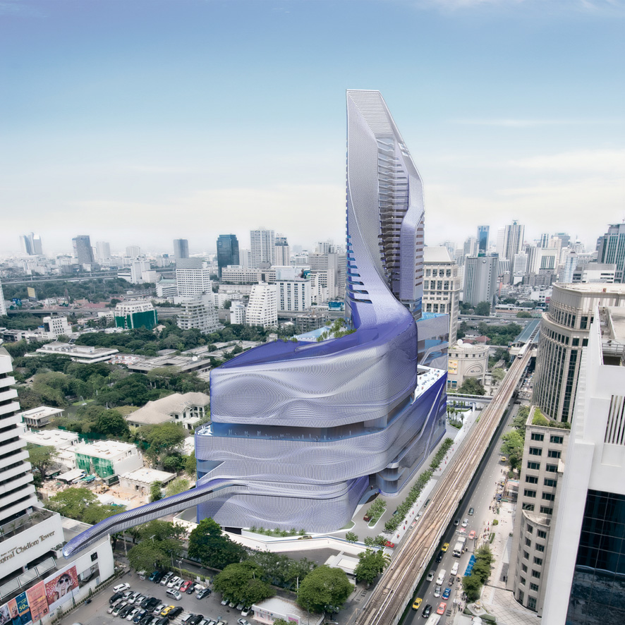 Central embassy complex heralds new era for thai for Bangkok architecture