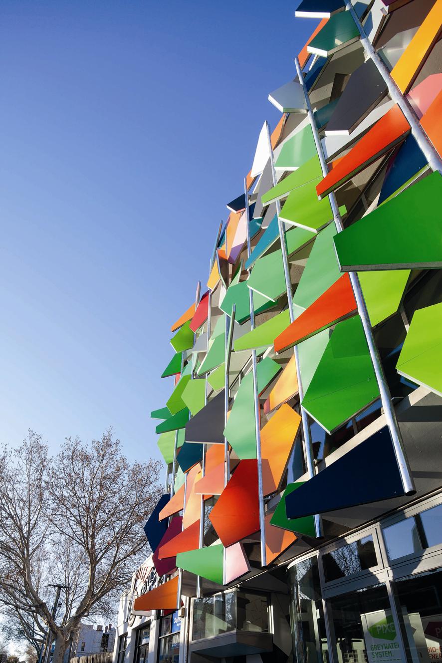 Pixel Building Close Up Of Exterior 171 Prc Magazine