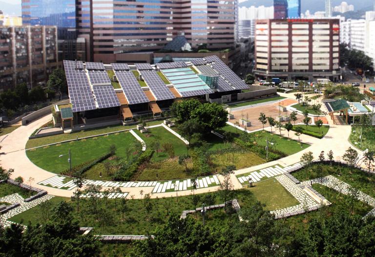 Zero Carbon Building designed by Ronald Lu & Partners