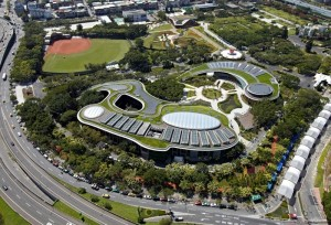 Public Infrastructures Amenities Category Taipei International Flora Expo Xinsheng Park, Taipei, Taiwan (Taipei City Government).