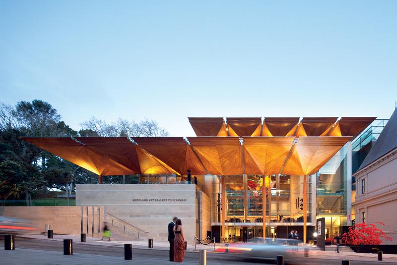 WAF Auckland Art Gallery Toi o Tamaki - Frances-Jones Morehen Thorp & Archim...