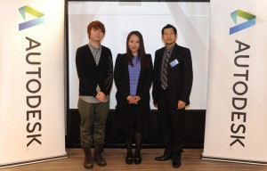 (From left to right) Mr. Eric Lai, VFX Supervisor, FreeD Workshop; Dr. Wendy Lee, Branch Manager, Autodesk Hong Kong and Macau; and Mr. YK Li, Principal Draftsman, Mott MacDonald Limited gathered at the Autodesk 2015 Solutions Launch event and shared how the latest Autodesk's solutions facilitate the development of AEC and M&E industries.