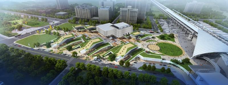 Benoy THSR - Hsin Chu Station Mall (1)