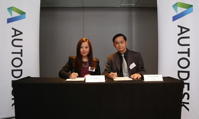 Dr. Wendy Lee and Mr. David Fung in Contemplation of Signing a Joint Marketing Agreement lr