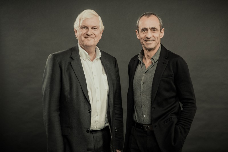 Peter Shaw, Keith Griffiths LR