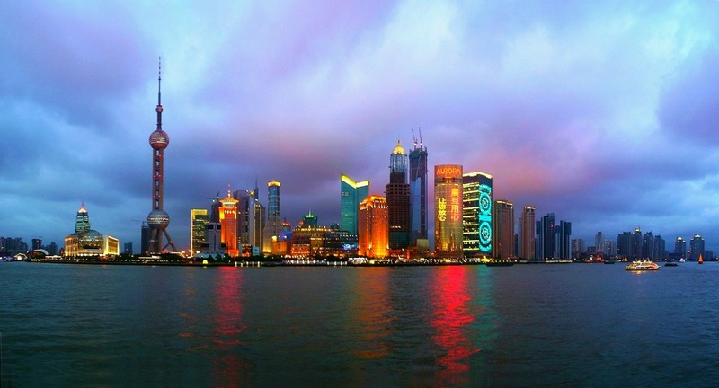 Shanghai-Light-Landscape-China