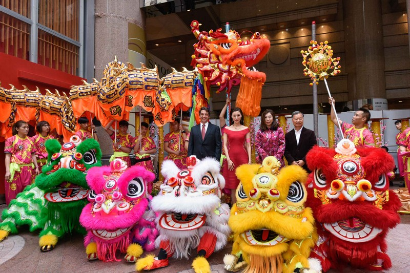 ts dragon and lion dance ceremony_eye dotting ceremony 1 - Chinese New Year Dragon Dance