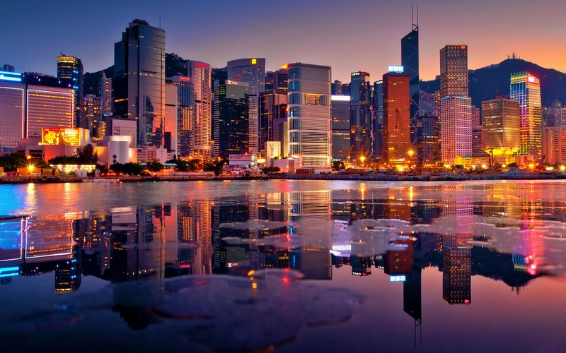 hong-kong-beautiful-night-landscape-city