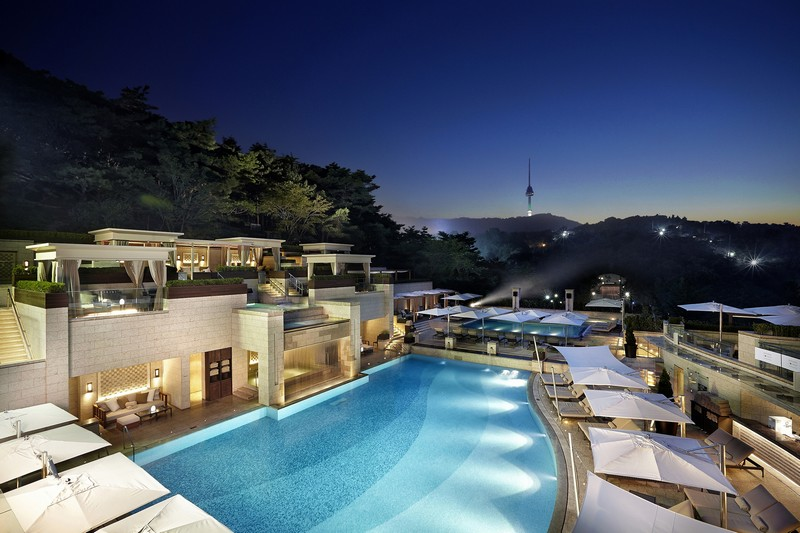 The Shilla Seoul_Urban Island_Night