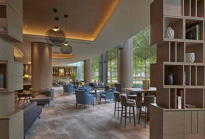 New World Millennium Hong Kong Hotel - The Lounge