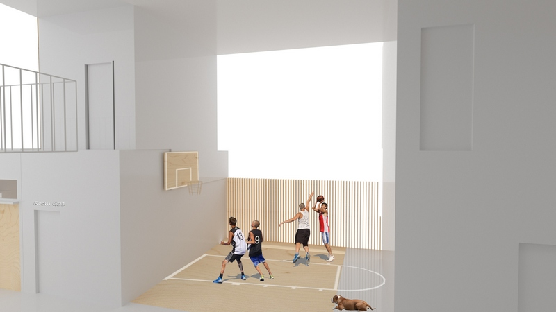 04_Sharing space_Basketball Court