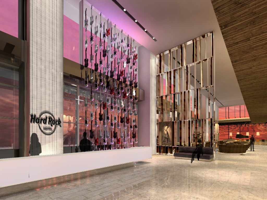 Hard Rock Hotel Shenzhen_Reception