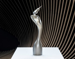 2017 BRIT Awards Statue by Zaha Hadid   © Image by Luke Hayes