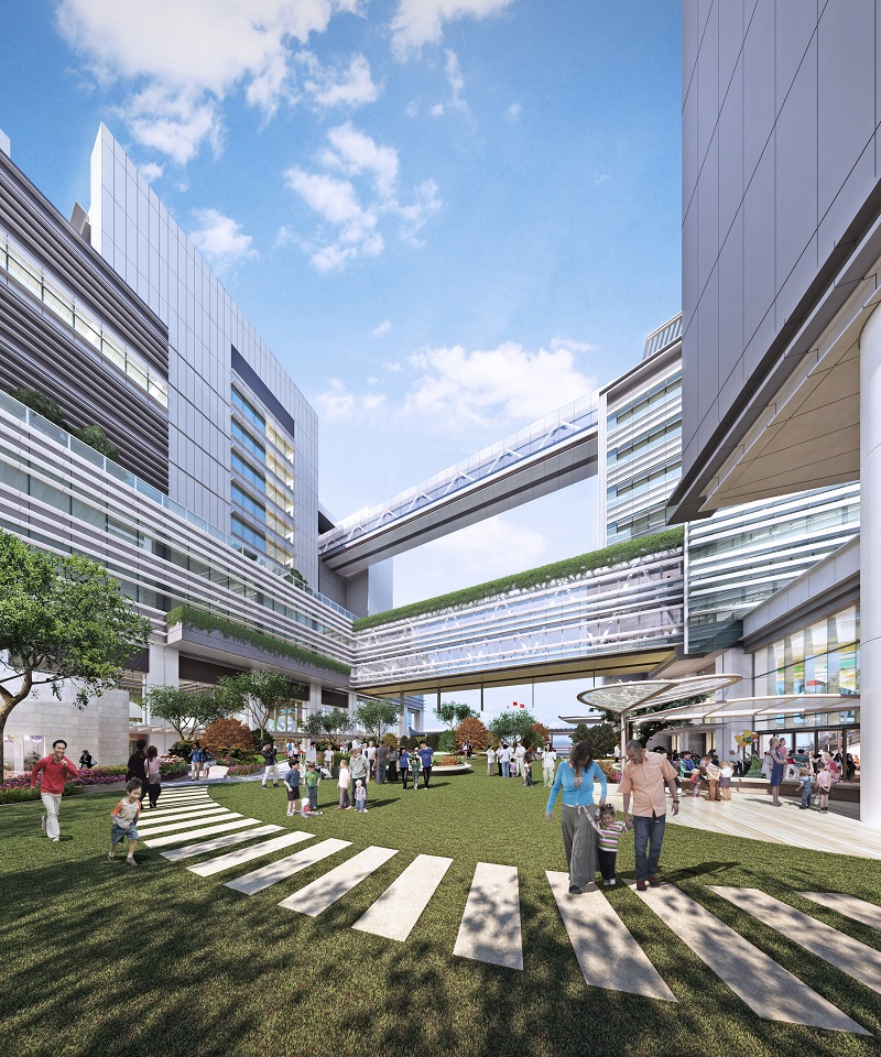 Green State Of The Art Children S Hospital Ahead Of The