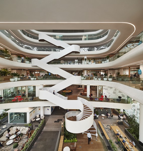 GSK Asia House: A Dynamic Space For Moving And Sharing