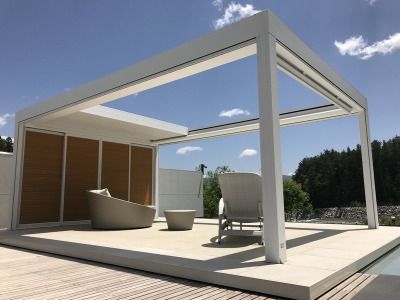 Lixil Takes Outdoor Living In Japan To The Next Level With Renson S Pergolas Prc Magazine Pacific Rim Construction