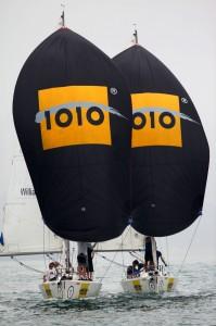 1010 Match Racing International 2013 - 1010 on parade