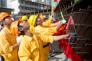 Shanghai Tower Topping out 3