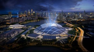 Singapore Sports Hub - AECOM, Arup and DP Architects